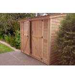 8' x 4' SpaceSaver Double Door Garden Shed