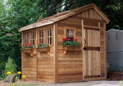 8' x 8' SunShed Garden Building