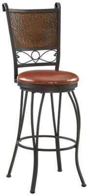 Stamped Back Bar Stool