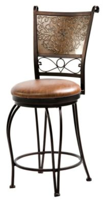 Stamped Back Counter Stool