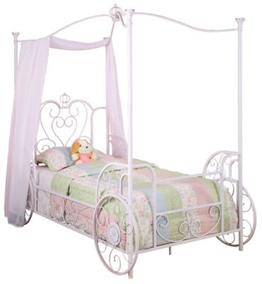 Princess Emily Carriage Canopy Twin Bed