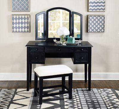 Vanity Mirror & Bench