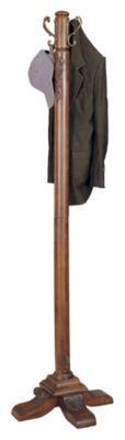 Woodbury Mahogany Coat Rack