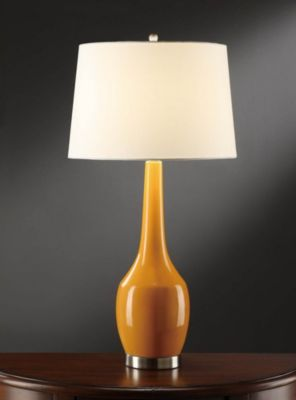 Nina Orange Table Lamp