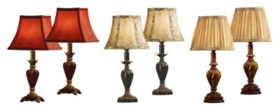 Accent Lamps  - Set of 6