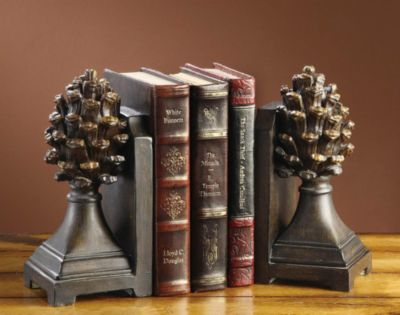 Pine Bluff Bookends - Pair