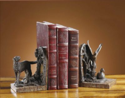 Clear Creek Bookends - Pair