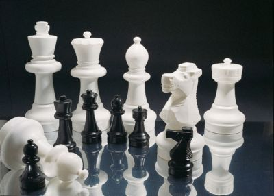 Large Toy Chess Pieces