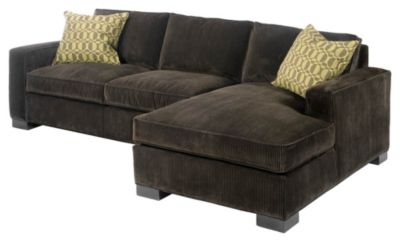 Grace Feather & Down Right-Arm Facing Chaise
