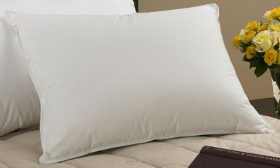 Cambric Down-&-Feather Pillow – 90% White Duck Feather/10% Snow White Down™