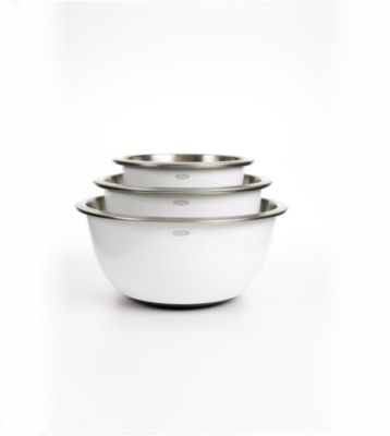 Good Grips 3-Piece Stainless Steel Mixing Bowl Set