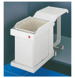 Easy Cargo 20 Recycling Bin - Cream