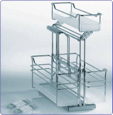 3 Basket Portero Storage Unit Pull-Out