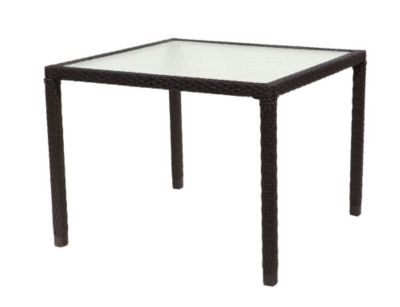 avenir 40 x 40 square dining table. Black Bedroom Furniture Sets. Home Design Ideas