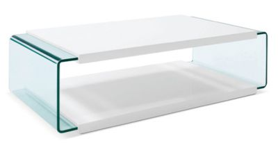Luna White Coffee Table