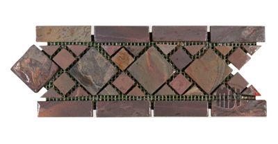 Motif Multi Classic Border Tile - Tumbled