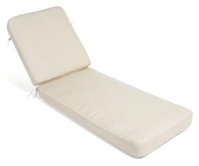 Cast Aluminum 2 Piece Chaise Cushion