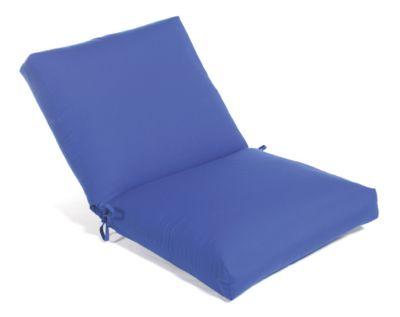 Aluminum Wood Non-Tufted Large Club Cushion
