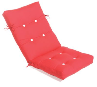 Aluminum Wood Button-Tufted High Back/Recliner Cushion
