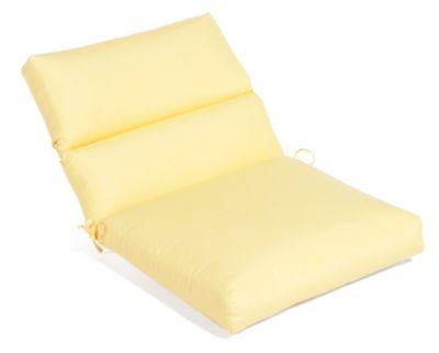 Aluminum Wood Cartridge Dining Cushion