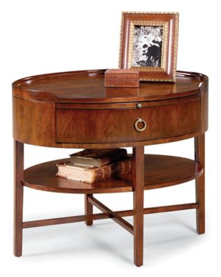 8010 Oval End Table