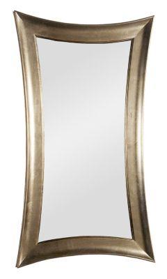 Carnivale Concave Mirror - Silver Leaf