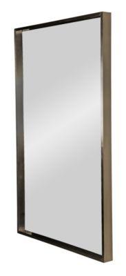 Memphis Mirror - Satin Nickel Plated