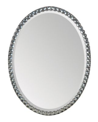 Rhiannon Beveled Oval Mirror