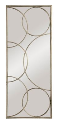 Kyrie Mirror - Antique Silver Leafed