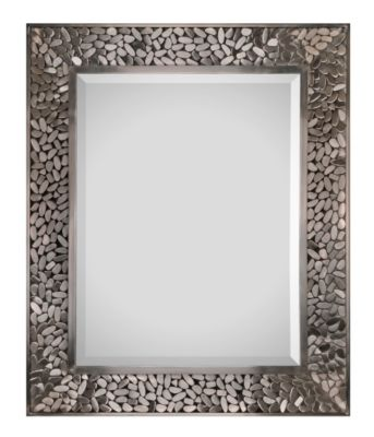 Lexi Beveled Mirror - Satin Nickel Plated