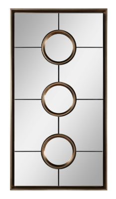 Tosca Mirror - Champagne Silver