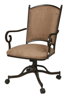 Atrium Caster Arm Chair