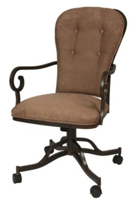 Magnolia Caster Arm Chair
