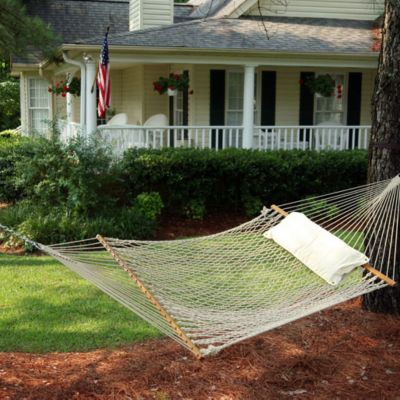 The Original Pawleys Island Deluxe Cotton Rope Hammock