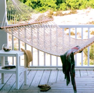The Original Pawleys Island Presidential Size Cotton Rope Hammock