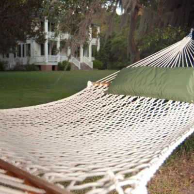 The Original Pawleys Island Presidential Size Polyester Rope Hammock