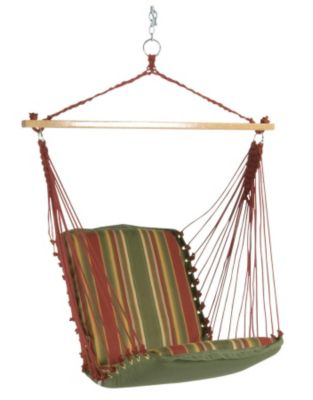 The Original Pawleys Island Cushioned Single Swing