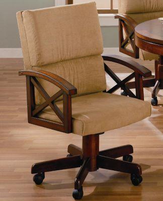 Marietta Upholstered Game Chair
