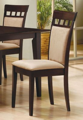 Cushion Back Chair - Set of 2