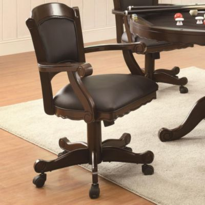 Turk Game Arm Chair with Casters