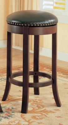 Swivel Upholstered Barstool - Set of 2