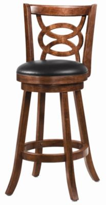 Upholstered Swivel Barstool - Set of 2