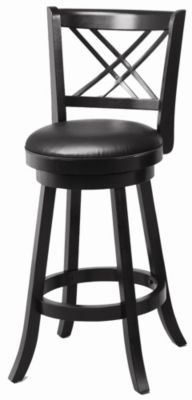Upholstered Swivel Barstool - Set of 2