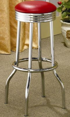Soda Fountain Barstool - Set of 2