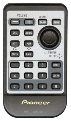 Card Remote Control with Bluetooth® Keys