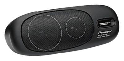 3-Way Surface Mount Speaker with 80 Watts Maximum Power - Pair