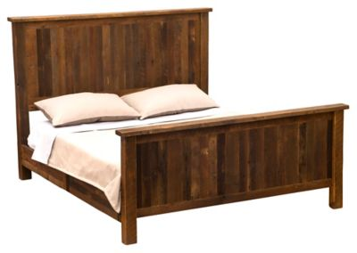 Barnwood Traditional California King Bed