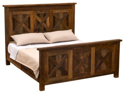 Barnwood Barndoor California King Bed