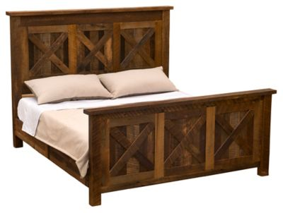 Barnwood Barndoor Double Bed
