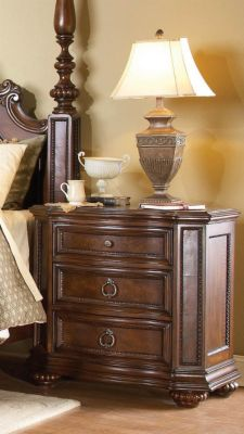 Prenzo Nightstand - Cherry